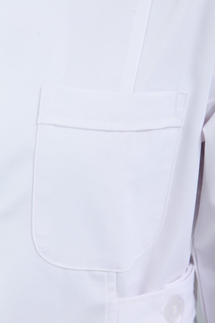 Униформа для медперсонала Подлинной Соловей медсестер зимняя одежда длинный рукав белый t красоты наркотиков магазин одежды обслуживающих белых халатах не пиллинг