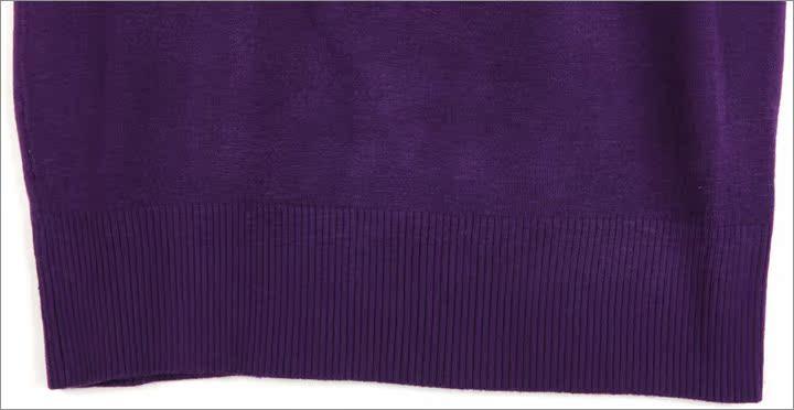 欧莎世家OSA2011秋装新款女装冬装韩版蕾丝修身长袖毛衣