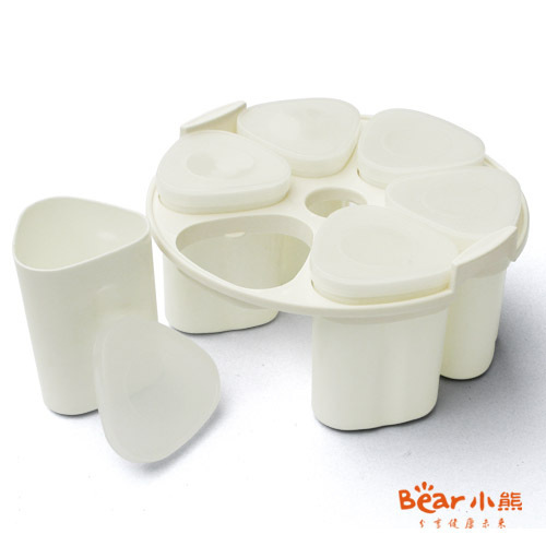 Bear Winnie the yogurt machine for 6 points cup liner container filled with 1.5 liters (for 502,503,5091,5101)