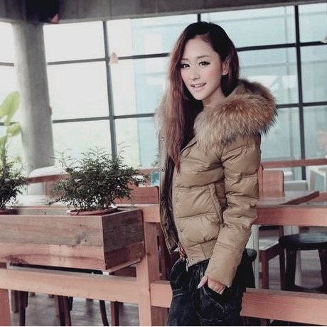 Женский пуховик Taobao продаются новые роскошные длинной шерсти воротник с вниз Куртка Пальто на осень/зима коротких вниз куртка женщин специальные ЧАО