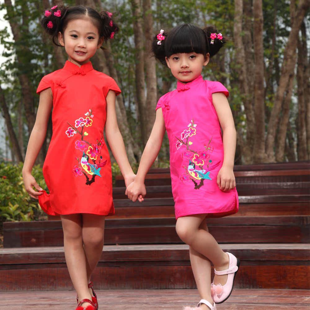 Детское ципао Wang Xiao x1289w Wang Xiao