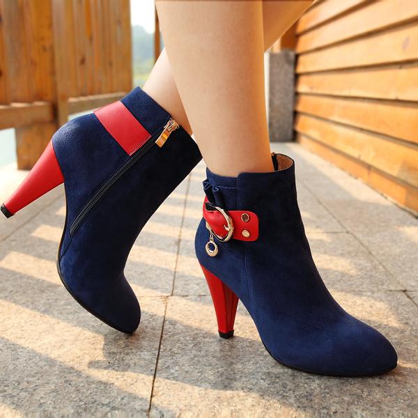 冬季靴子如何搭配(4)