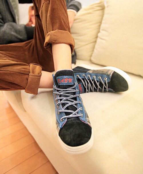春季鞋子时尚男装搭配图片(6)