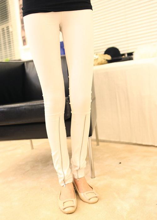 打底裤穿衣如何搭配(3)