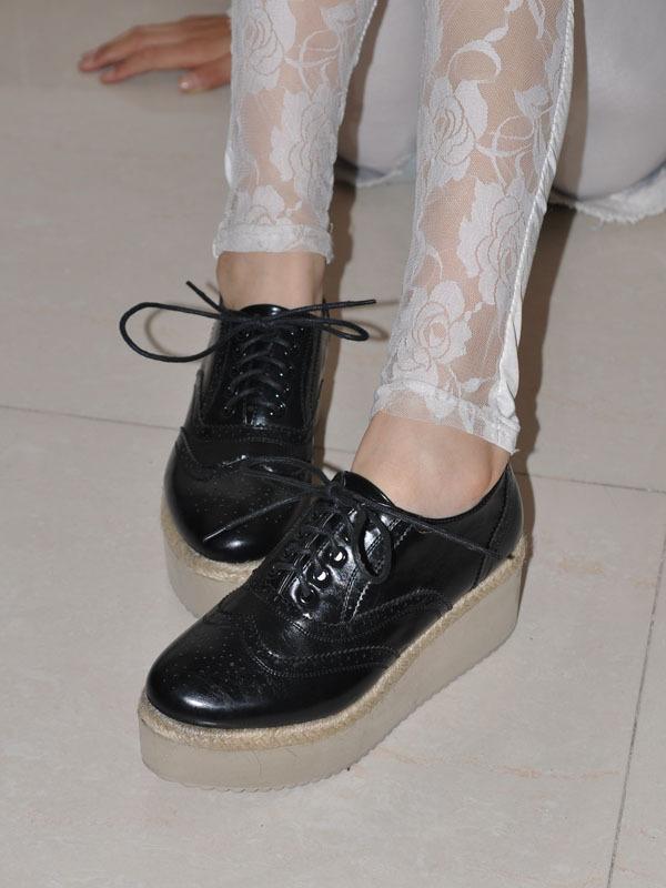秋季鞋子女装如何搭配(7)