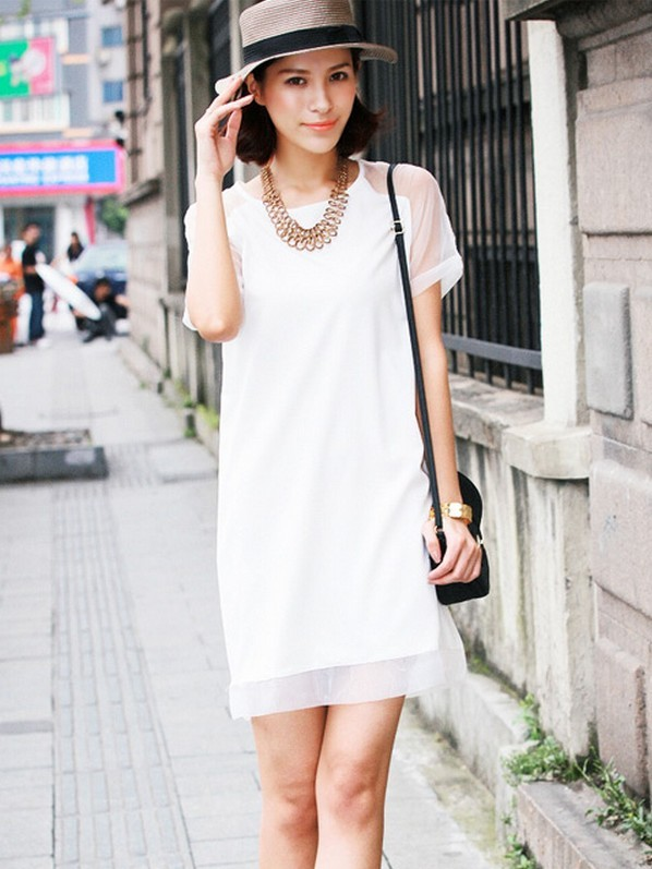夏日新潮服装如何搭配(2)