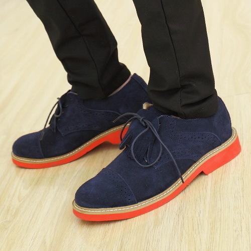 春季鞋子男装怎么搭配(2)