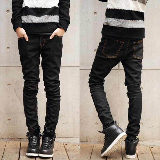 冬天牛仔裤男士服装搭配